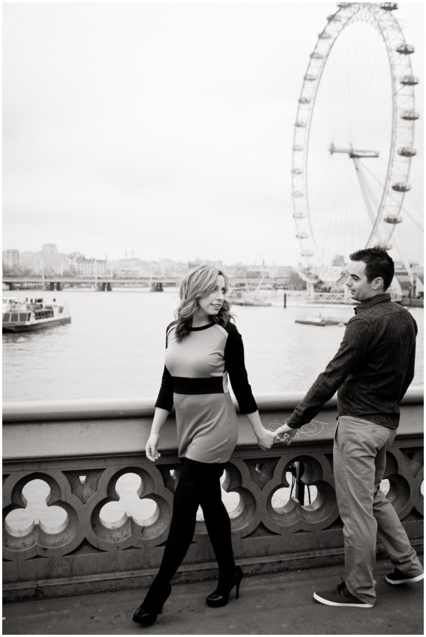 A London Pre Wedding Engagement shoot with colour blocking (20)