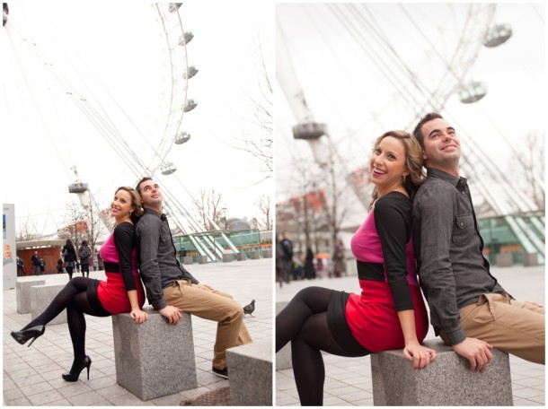 A London Pre Wedding Engagement shoot with colour blocking (21)