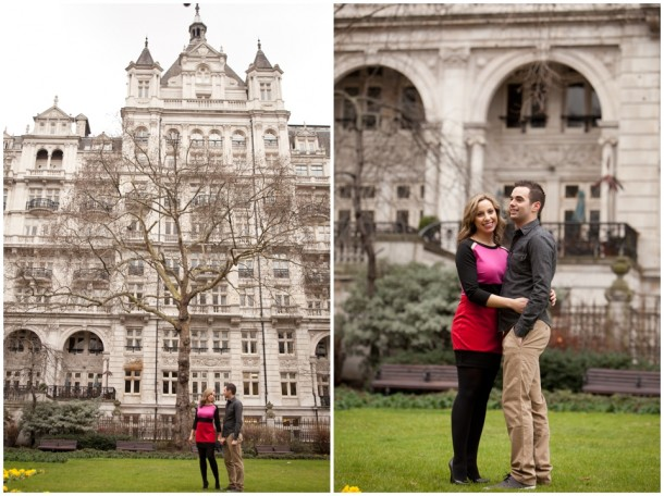 A London Pre Wedding Engagement shoot with colour blocking (22)