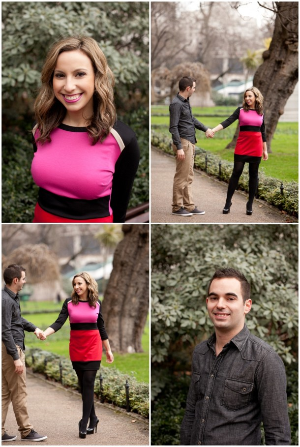 A London Pre Wedding Engagement shoot with colour blocking (24)