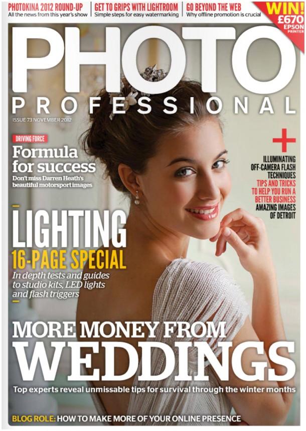 Cover of Photo Pro Magazine (3)