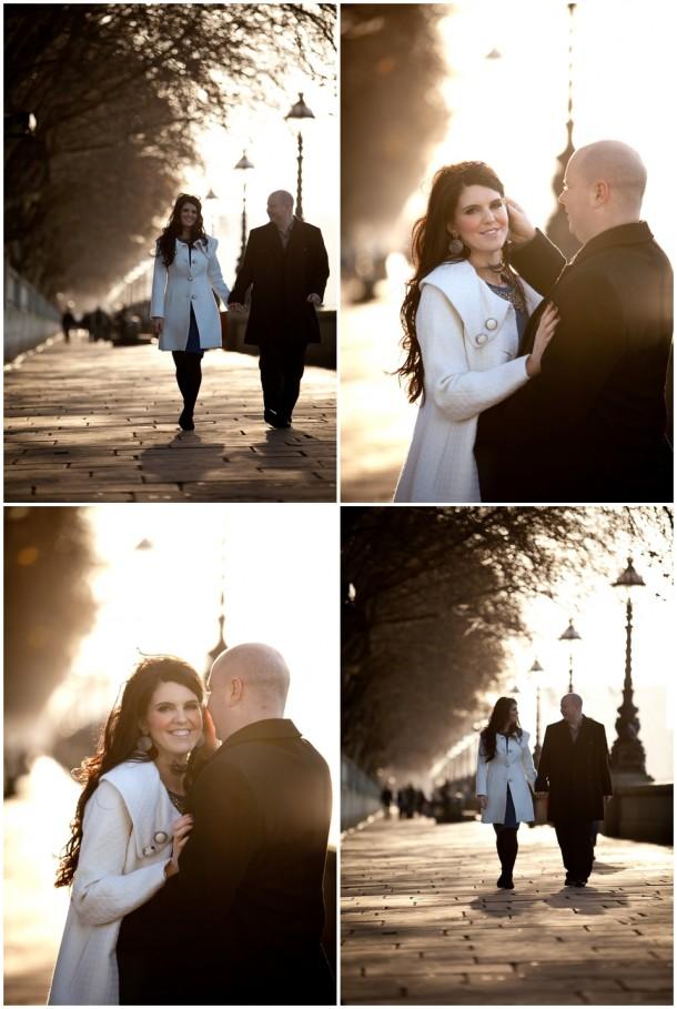Winter London Engagement Pre Wedding Shoot (1)