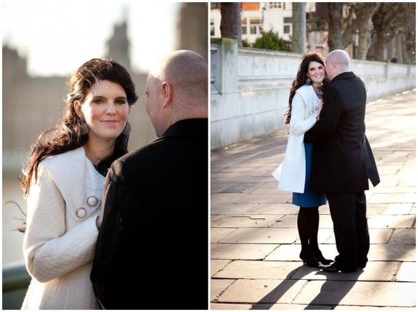 Winter London Engagement Pre Wedding Shoot (2)