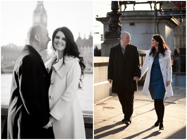 Winter London Engagement Pre Wedding Shoot (3)