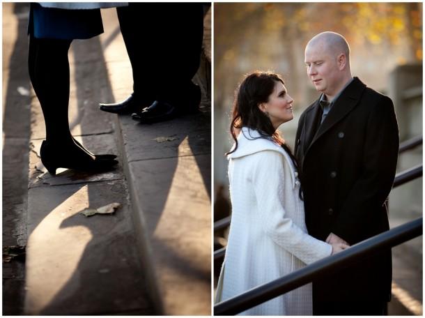Winter London Engagement Pre Wedding Shoot (7)