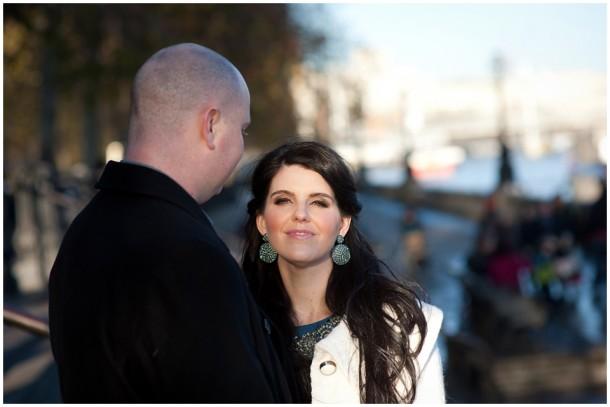 Winter London Engagement Pre Wedding Shoot (8)