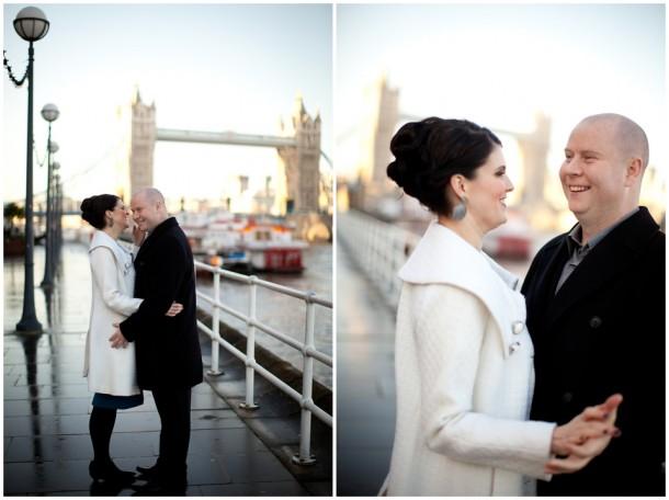 Winter London Engagement Pre Wedding Shoot (20)