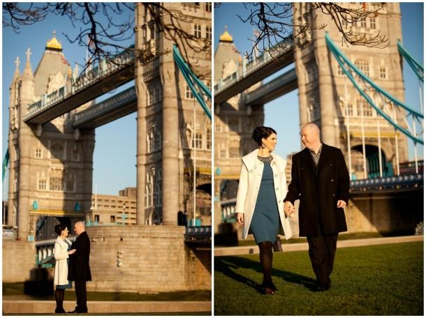Winter London Engagement Pre Wedding Shoot (24)