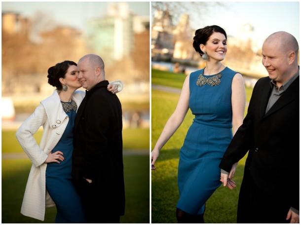 Winter London Engagement Pre Wedding Shoot (25)