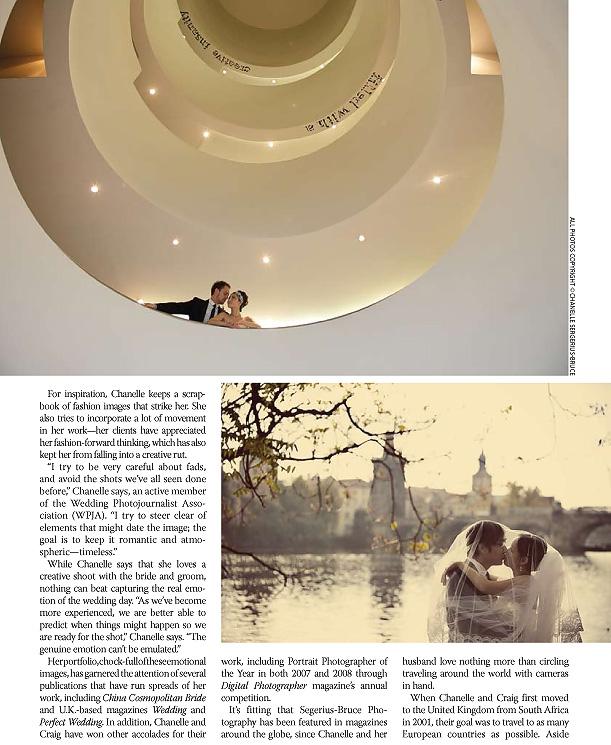 Rangefinder Magazine features Segerius Bruce