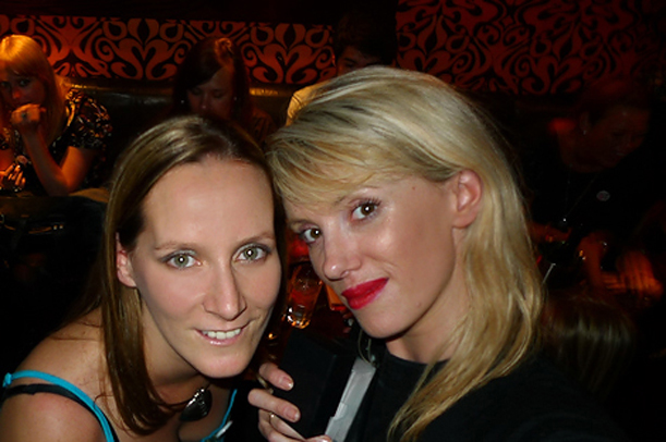 Julia Ford and Chanelle Segerius-Bruce
