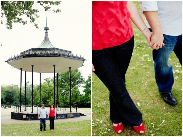 Regents Park Engagement Shoot (11)