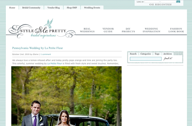 Segerius Bruce Photography on Style Me Pretty