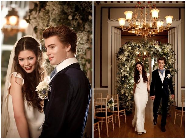 Breaking Dawn Wedding Twilight inspired Shoot (20)