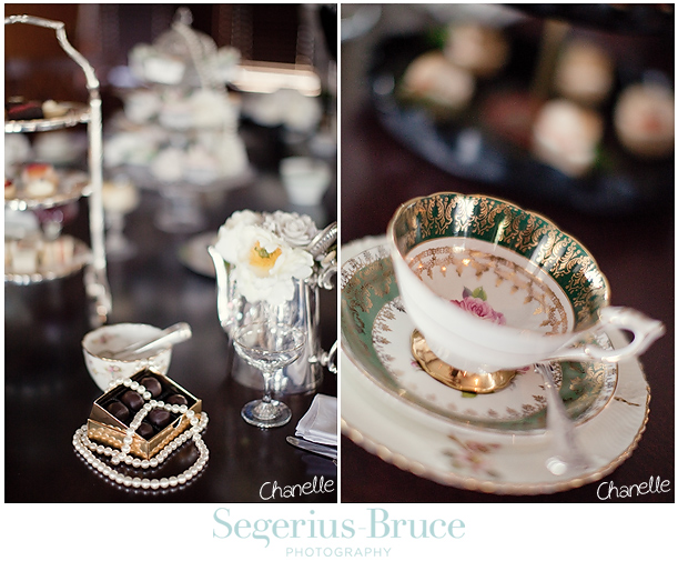 Vintage Teasets Wedding Inspiration