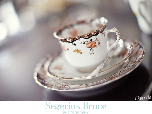 Vintage Teasets for Weddings and Functions