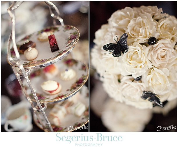 Vintage Wedding Teasets and Inspiration