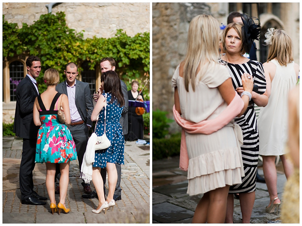 Wedding at Notley Abbey