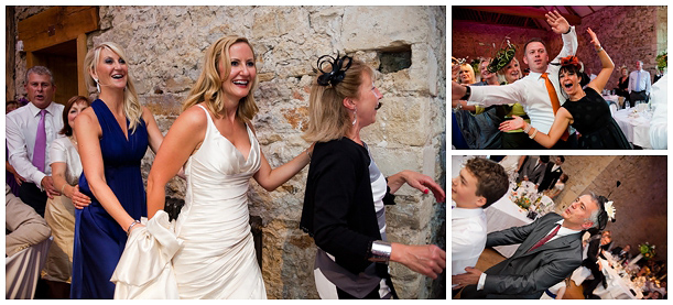 wedding at Notley Abbey
