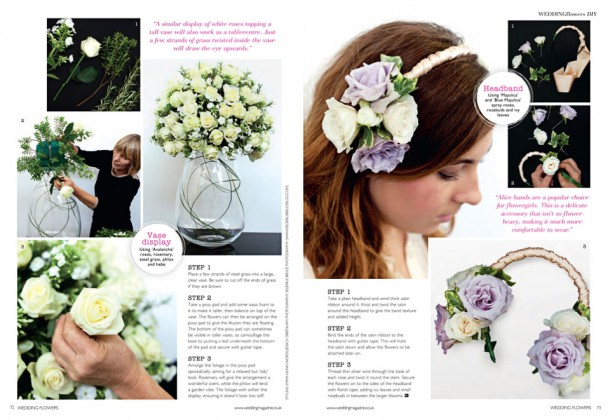 Wedding Flowers Magazine Editorial Still life photographer (1)
