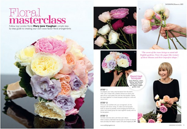 Wedding Flowers Magazine Editorial Still life photographer (2)