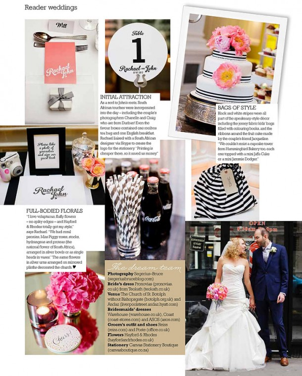 Wedding at The Andaz London published You & Your Wedding (3)