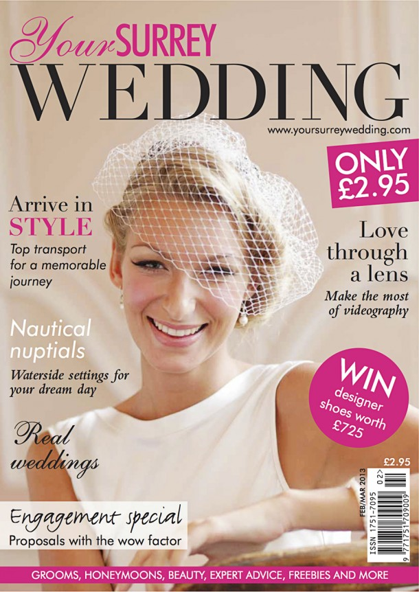Bridal Fashion Photographer front Cover