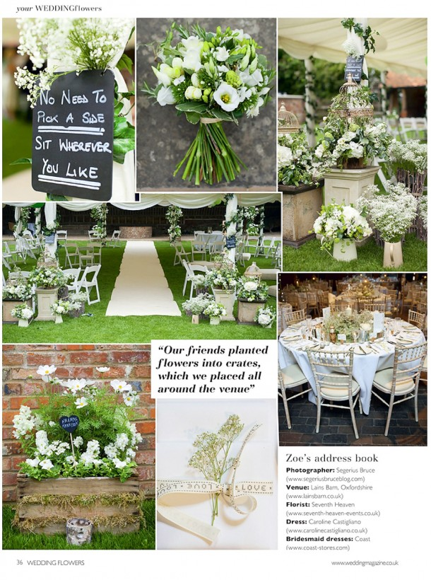 Lains Barn Wedding Flowers Magazine (3)