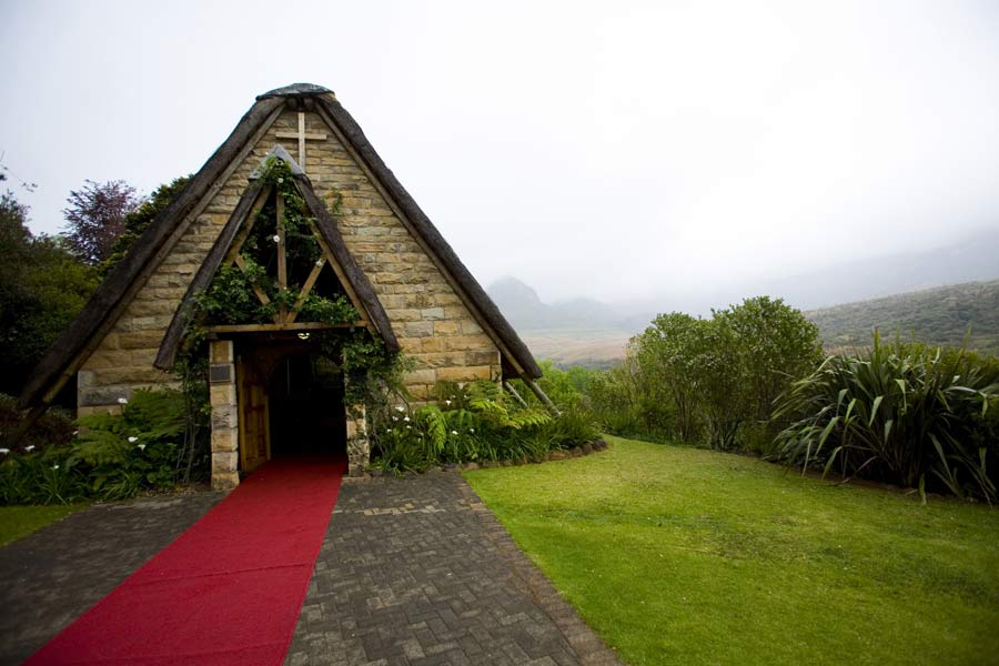 Chapel at Cathedral Peak, Drakensberg, Kwa-Zulu Natal, South Africa