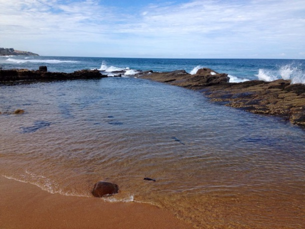 kid and baby friendly beach in Ballito Shakas Rock Pools
