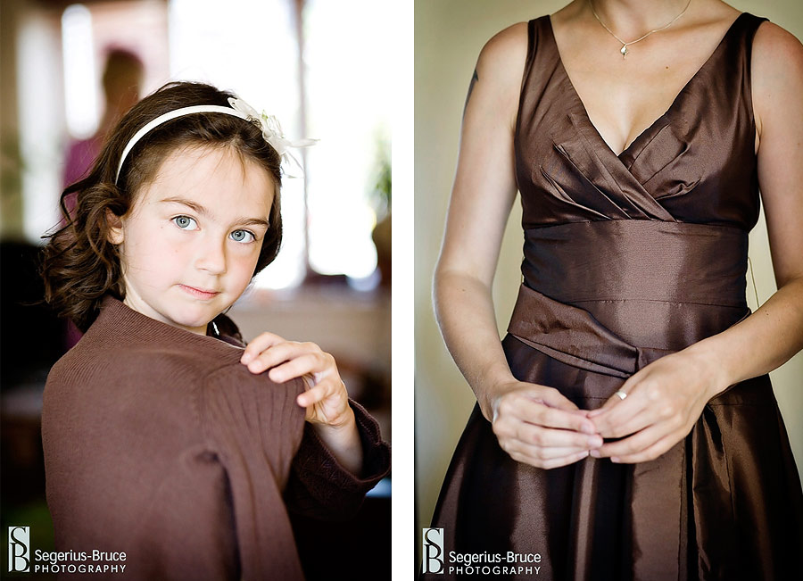 Brown colours for Wedding theme