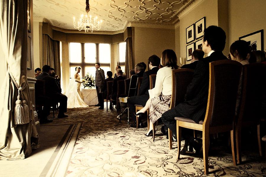 Devere Venues wedding ceremony at Hartsfield Manor, Surrey