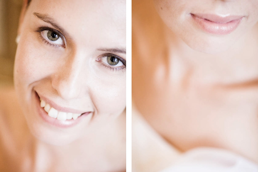 Beauty shots of the bride before the weddiing