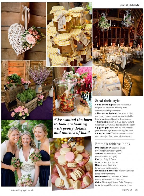 Glam UK Barn wedding (2)