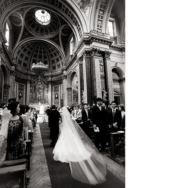 Wedding at The Brompton Oratory