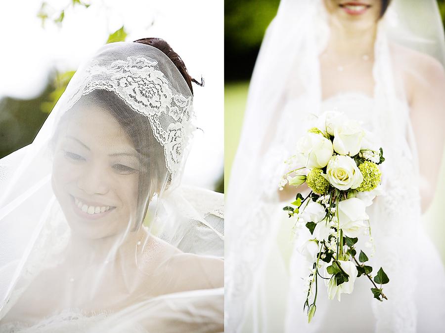 Quirky shots of the bride   wedding in Surrey