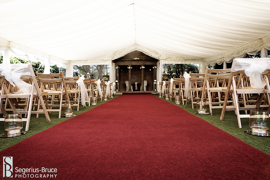 Parley Manor Wedding Ceremony layout