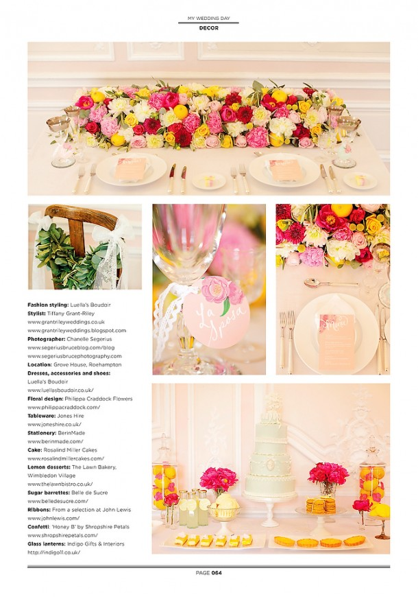 Yellow and Pink Styled Bridal Fashion Shoot Segerius-Bruce (1)
