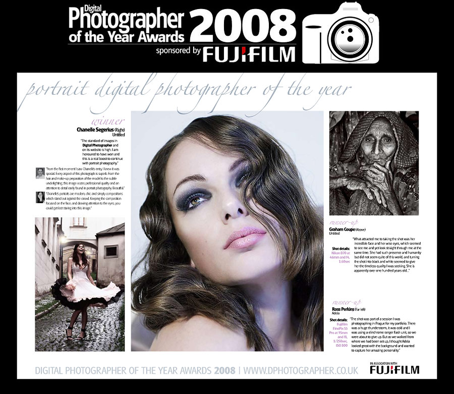 Digital Photographer Magazine Portrait Photographer of the year