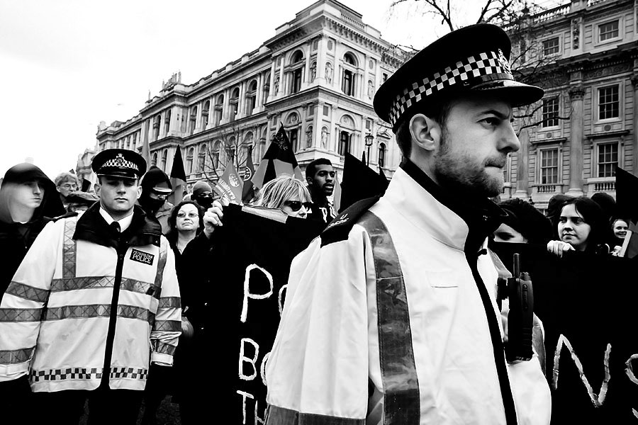 G20 summit protest in London