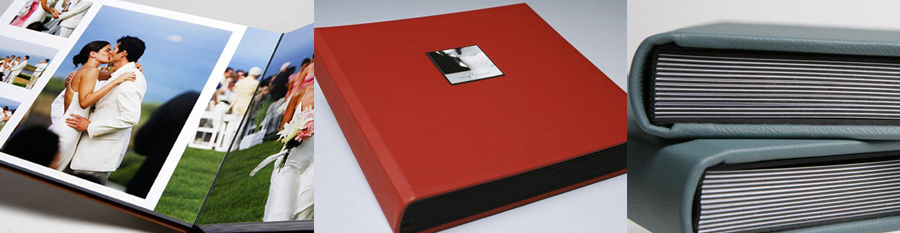 Segerius Bruce wedding albums imported from New Zealand