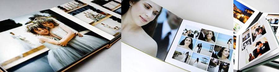 New Zealand hand made wedding albums from Queensberry