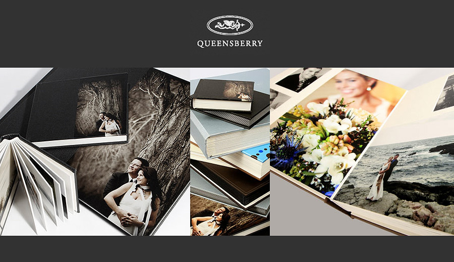 Queensberry Albums Luxury Wedding Albums
