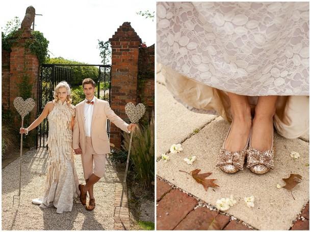 Rustic White Wooden Wedding at Gaynes Park (3)