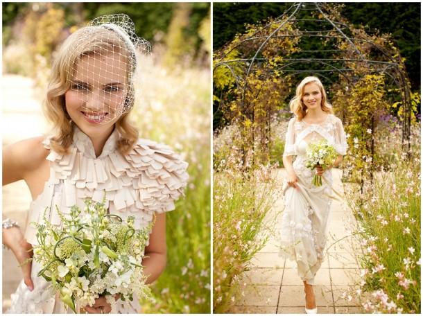 Rustic White Wooden Wedding at Gaynes Park (4)