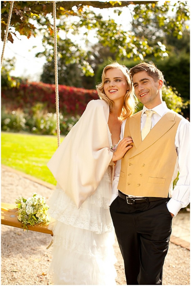 Rustic White Wooden Wedding at Gaynes Park (5)