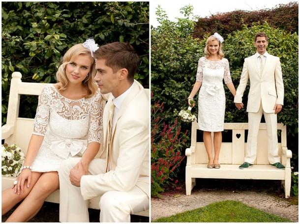 Rustic White Wooden Wedding at Gaynes Park (7)