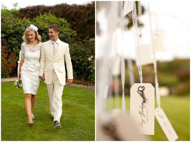 Rustic White Wooden Wedding at Gaynes Park (8)