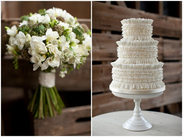 Rustic White Wooden Wedding at Gaynes Park (24)