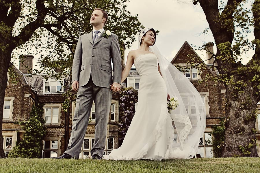 Vintage Styled Wedding Photograph At Hartsfield Manor